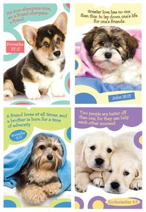 Notepad Set of 4: Puppy Series 3