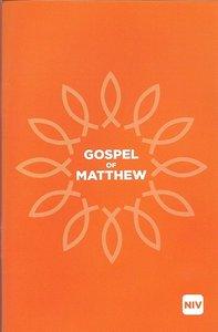 NIV Gospel of Matthew Black Letter