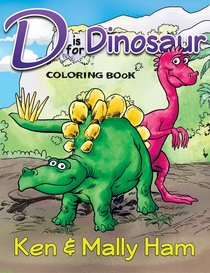 Is For Dinosaur Coloring Book