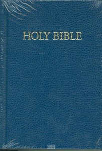 KJV Royal Ruby Holy Bible Compact Edition Blue (Black Letter Edition)