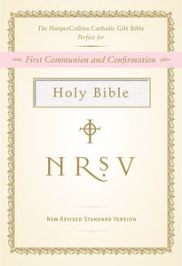 NRSV Harpercollins Catholic Gift Bible (White)