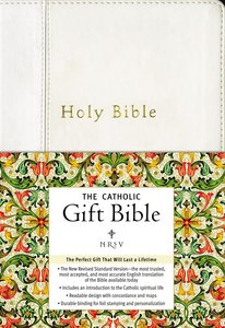 NRSV Catholic Gift Bible White Anglicized