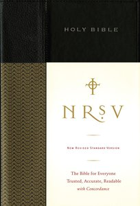 NRSV Standard Bible Black