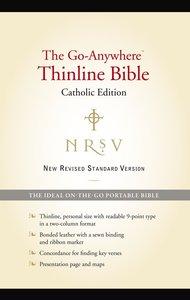 NRSV Go-Anywhere Thinline Catholic Edition Black