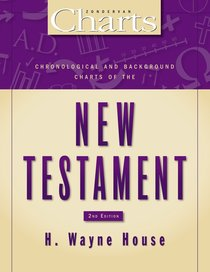 Chronological and Background Charts of the New Testament (Zondervan Charts Series)