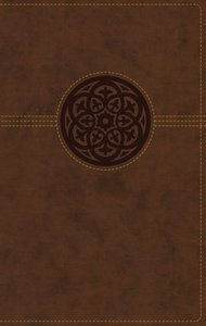 NRSV Thinline Reference Bible Large Print Brown Indexed