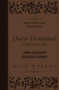 Vida Con Propsito - Diario Devocional, Una (Purpose Driven Life Journal -)