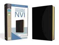 Nvi Santa Biblia Ultrafina Negra (Red Letter Edition)