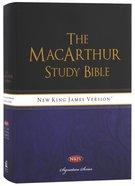 NKJV Macarthur Study Bible Signature Series (Black Letter Edition)