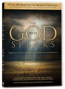 The God Who Speaks (2 Dvds)