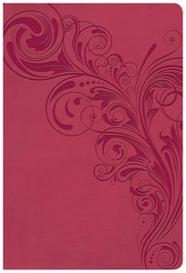 KJV Giant Print Reference Bible Pink (Red Letter Edition)