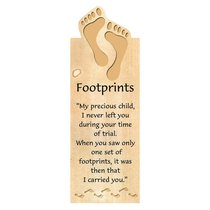 Bookmark Magnetic: Footprints