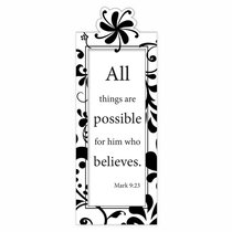 Bookmark Magnetic: All Things Are Possible...