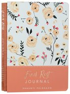 Signature Journal: Find Rest, Peach Flowers