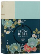 CSB Study Bible For Women Light Turquouise/Sand