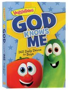God Knows Me: 365 Daily Devos For Boys (Veggie Tales (Veggietales) Series)