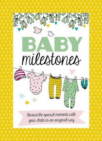 Baby Milestone Cards: Record the Special Moments With You Child in An Original Way