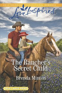 The Ranchers Secret Child (Bluebonnet Springs) (Love Inspired Series)