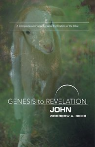 John : A Comprehensive Verse-By-Verse Exploration of the Bible (Participant Book, Large Print) (Genesis To Revelation Series)