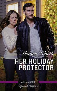 Her Holiday Protector (Men of Millbrook Lake) (Love Inspired Suspense Series)