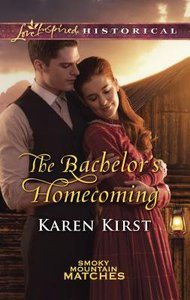 The Bachelors Homecoming (Smoky Mountain Matches) (Love Inspired Series Historical)