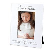 Photo Frame Precious Occasions: First Holy Communion, Cast Stone (Numbers 6:24)