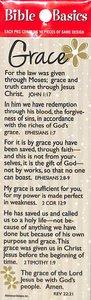 Grace (10 Pack) (Bible Basics Bookmark Series)