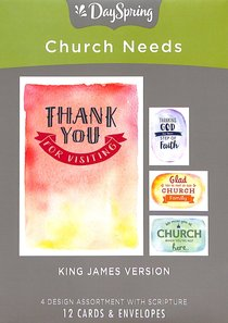 Boxed Cards: Church Needs For Everyone, KJV Scripture Text