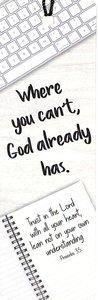 Tassel Bookmark: Where You Cant God Already Has