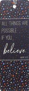 Tassel Bookmark: Believe