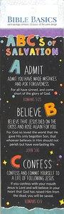 Abcs of Salvation (10 Pack) (Bible Basics Bookmark Series)