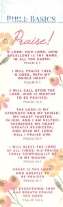 Praise! (10 Pack) (Bible Basics Bookmark Series)