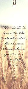 Tassel Bookmark: Lord is Close to the Brokenhearted