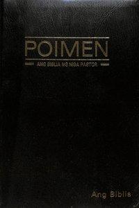 Tagalog Tpv Poimen: Ang Biblia Ng Mga Pastor Study Bible Black