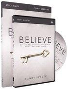 Believe (Study Guide With DVD) (Believe (Zondervan) Series)