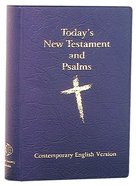 Cev New Testament & Psalm Compact Blue
