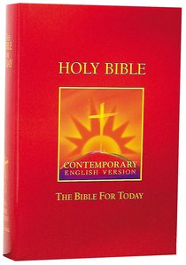 CEV Bible For Today Burgundy