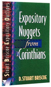 Sbeo Expository Nuggets From 1 Corinthians
