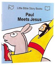Paul Meets Jesus (Little Bible Story Books Series)