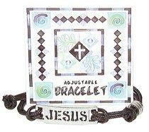 Cord Bracelet: Jesus